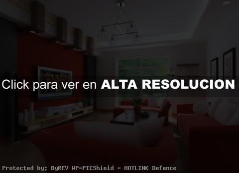Diseño de Interiores Rojo