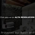 baños con piedra