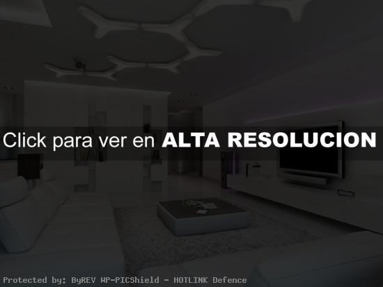 diseño de sala de estar moderna