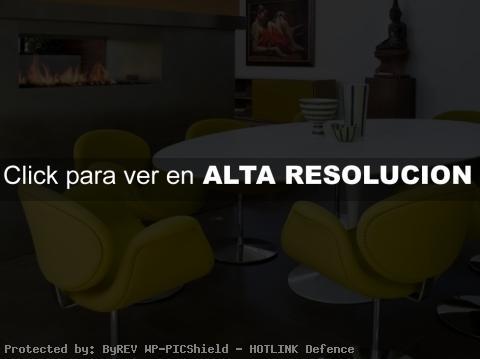 Diseño de interiores moderno y dinámico