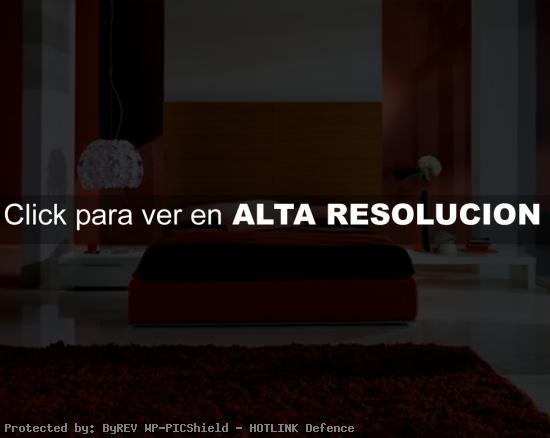 Diseño moderno en rojo
