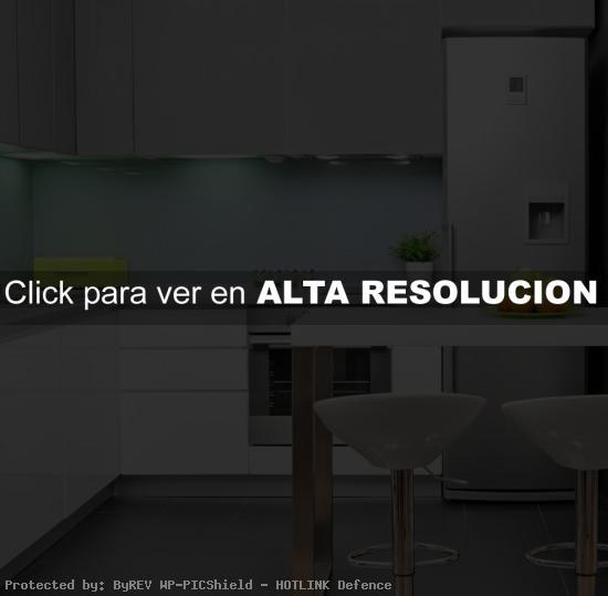 iluminación de cocina con luz led